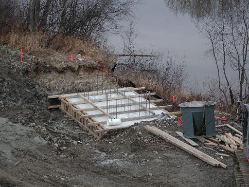 Pic River Snowmobile Bridge