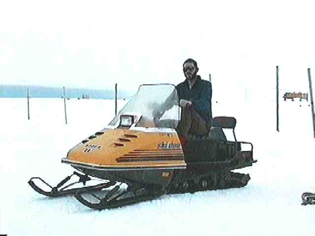Skidoo in use at Halley